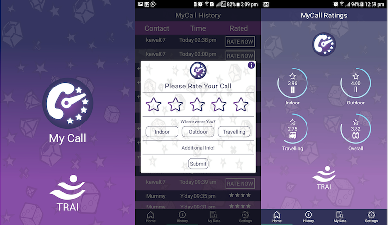 TRAI Launches MyCall App to Allow Subscribers to Rate their Call Experience